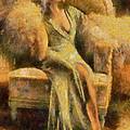 Portrait Of Jean Harlow by Charmaine Zoe