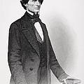 Portrait Of Jefferson Davis by Mathew Bardy