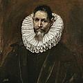 Portrait Of Jeronimo Cevallos by El Greco
