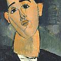 Portrait Of Juan Gris by Celestial Images