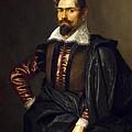 Portrait Of Kaspar Scioppius by Peter Paul Rubens