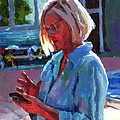 Portrait Of Kelly by Douglas Simonson
