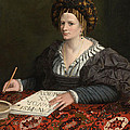 Portrait Of Laura Pisani by Gabriele Cappellini