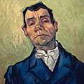 Portrait Of Man by Vincent van Gogh