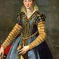 Portrait Of Maria De Medici Or Eleonora Di Garzia Di Toledo by Alessandro Allori