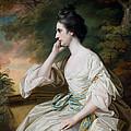 Portrait Of Miss Anne Dutton by Francis Cotes