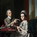 Portrait Of Mr And Mrs Thomas Mifflin by John Singleton Copley