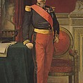 Portrait Of Napoleon IIi 1808-73 1862 Oil On Canvas by Hippolyte Flandrin