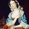 Portrait Of Peg Woffington by Jean-Baptiste van Loo