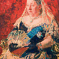 Portrait Of Queen Victoria by Mountain Dreams