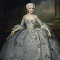 Portrait Of Sarah Eleanore Fairmore by Ivan Vishnyakov