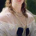 Portrait Of Sophie Troubetskoy  by Franz Xaver Winterhalter