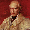 Portrait Of Stratford Canning 1786-1880, Viscount Stratford De Redcliffe 1856-7 Oil On Canvas by George Frederick Watts