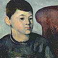 Portrait Of The Artists Son by Paul Cezanne