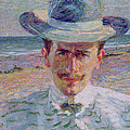 Portrait Of The Lawyer by Umberto Boccioni