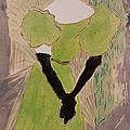 Portrait Of Yvette Guilbert by Henri de Toulouse-Lautrec