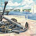 Portside Anchor by Paul Brent
