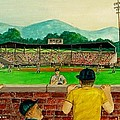Portsmouth Athletics Vs Muncie Reds 1948 by Frank Hunter