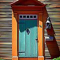 Portsmouth Door 8 by Kevin Fortier