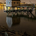Portsmouth Harbor Night 1 by Phillip McNeil