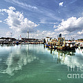 Portsmouth Old Harbour  by Rob Hawkins