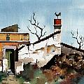 Portugal  Abandoned Nr  Loule by Val Byrne