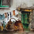Portugal  Water And Wine. by Val Byrne