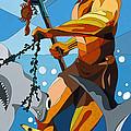 Poseidon - W/hidden Pictures by Konni Jensen