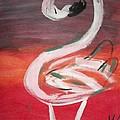 Posing Flamingo by Sherry Cordle