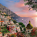 Positano by MGL Meiklejohn Graphics Licensing
