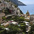 Positano Overview by Sally Weigand