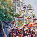 Positano Restaurant by Carolyn Jarvis