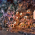 Positano Sunset Grotto by Donna Proctor