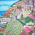 Positano by Teresa Dominici