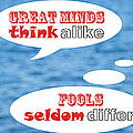 Positive-thinking And Negative-thinking Seagull Twins 4 by Beverly Claire Kaiya