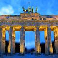 Post-it Art Berlin Brandenburg Gate by Bruce Nutting