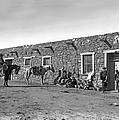 Post Office In Ganado, Arizona by Underwood Archives
