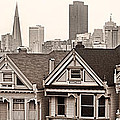 Postcard Row Bw by Jerry Fornarotto