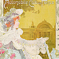 Poster Advertising The Sixth Exhibition Of The Automobile Club De France by J Barreau