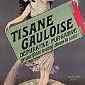Poster Advertising Tisane Gauloise by Paul Berthon