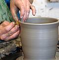 Potters Hands by Susan Leavines Harris