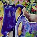 Pottery And Flowers by Julianne Felton
