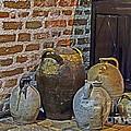 Pottery Corner by Elvis Vaughn