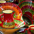 Pottery For Sale At A Market Stall by Panoramic Images