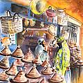 Pottery Seller In Essaouira by Miki De Goodaboom