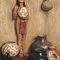Pottery Vendor by Mountain Dreams
