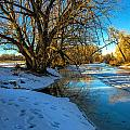 Poudre River Ice by Baywest Imaging