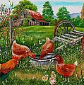 Poultry Peckin Pals by Val Stokes