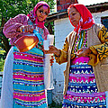 Pouring Wine For Guests In Demircidere Koyu In Kozak-turkey by Ruth Hager