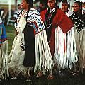 Pow-wow --women-- Missoula Mt by Harold E McCray